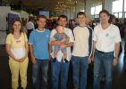My family together with Olympic Champions Andrei Volokitin, Sergey Karjakin, Alexander Moiseenko.